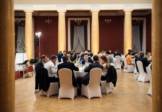 Gala dinner in Grand Hall