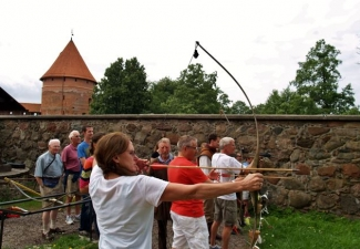 Archery in Trakai